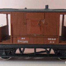 Trenes Escala: HORNBY (ELECTROTREN) H0 - VAGÓN DE FRENOS. Lote 83567024