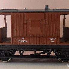 Trenes Escala: HORNBY (ELECTROTREN) H0 - VAGÓN DE FRENOS. Lote 83567224