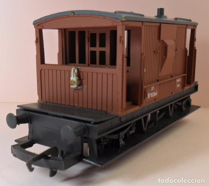 Trenes Escala: HORNBY (ELECTROTREN) H0 - Vagón de frenos - Foto 2 - 83567224