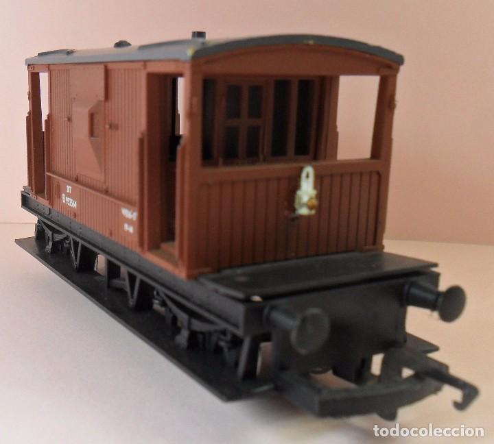 Trenes Escala: HORNBY (ELECTROTREN) H0 - Vagón de frenos - Foto 3 - 83567224