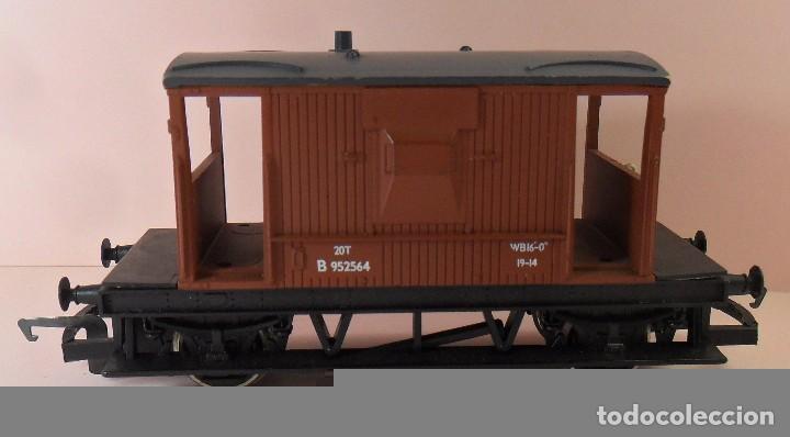 Trenes Escala: HORNBY (ELECTROTREN) H0 - Vagón de frenos - Foto 4 - 83567224