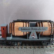 Trenes Escala: ELECTROTREN 800 VAGON CUBA CON GARITA DE GONZALEZ VIAS DESCATALOGADO. Lote 83947692