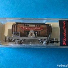 Trenes Escala: VAGON CUBAS FRANCO-ESPAÑOLAS S.A. ELECTROTREN REF: 828. ESCALA HO. CERTIFICADO 0410. Lote 84478960