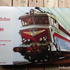 Trenes Escala: ANTIGUO ELECTROTREN - TREN MERCANCÍAS REF. 3002 - EN SU CAJA EN PERFECTO ESTADO. Lote 85349728