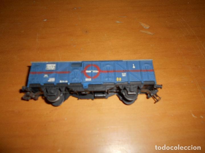 Trenes Escala: ELECTROTREN - VAGÓN DE MERCANCÍAS CERRADO TRANSFESA AÑOS 60 - Foto 2 - 139315798
