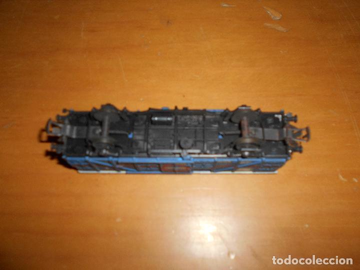 Trenes Escala: ELECTROTREN - VAGÓN DE MERCANCÍAS CERRADO TRANSFESA AÑOS 60 - Foto 8 - 139315798