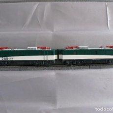 Trenes Escala: ELECTROTREN 2680D CC DIGITAL RENFE 289.101 TANDEM DESCATALOGADA. Lote 95821375