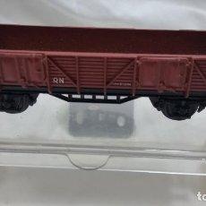 Trenes Escala: VAGON ELECTROTREN H0 HO MARRON. Lote 96095271