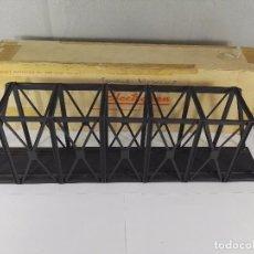 Trenes Escala: PUENTE METALICO ELECTROTREN PARA MAQUETA DE TREN ESCALA H0. Lote 97917411