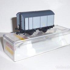 Trenes Escala: 0126-ELECTROTREN 003-MATEY 1996 VAGON FOUDRE NORTE H0 - 1/87. Lote 98685663