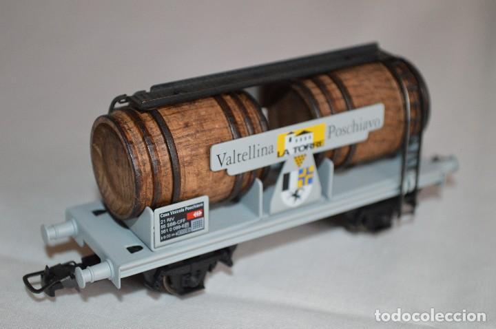 Trenes Escala: Vagón de vino La Torre SBB-CFF. Mod. 821. Serie limitada. Escala H0. Electrotren. romanjuguetesymas. - Foto 5 - 222247315