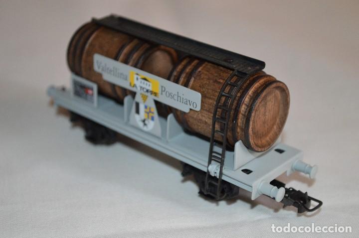 Trenes Escala: Vagón de vino La Torre SBB-CFF. Mod. 821. Serie limitada. Escala H0. Electrotren. romanjuguetesymas. - Foto 6 - 222247315
