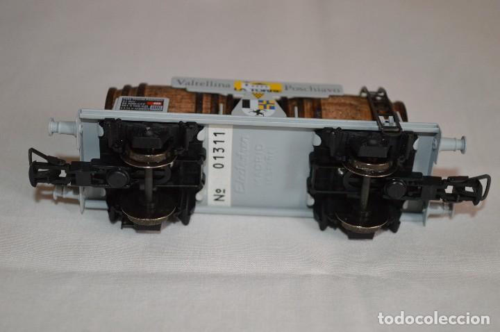 Trenes Escala: Vagón de vino La Torre SBB-CFF. Mod. 821. Serie limitada. Escala H0. Electrotren. romanjuguetesymas. - Foto 7 - 222247315