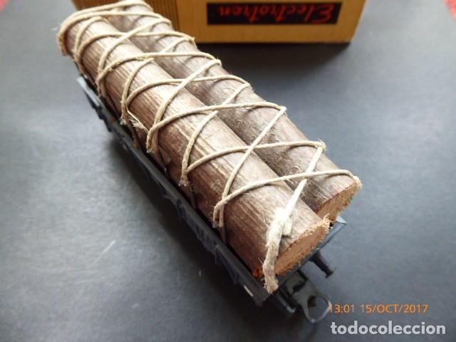 Trenes Escala: electrotren h0, vagon troncos años 70, - Foto 3 - 101211183