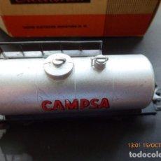 Trenes Escala: ELECTROTREN VAGON CISTERNA CAMPSA, . Lote 101211371