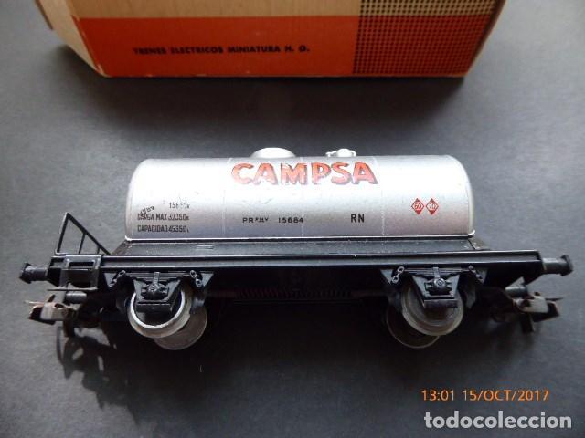 Trenes Escala: electrotren vagon cisterna campsa, - Foto 2 - 101211371