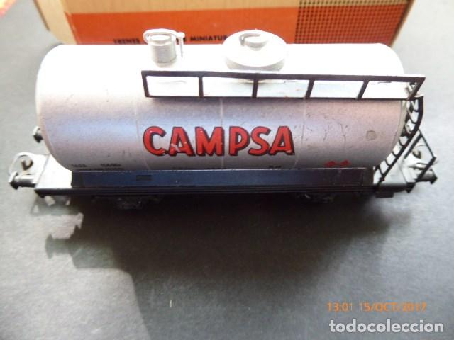 Trenes Escala: electrotren vagon cisterna campsa, - Foto 4 - 101211371
