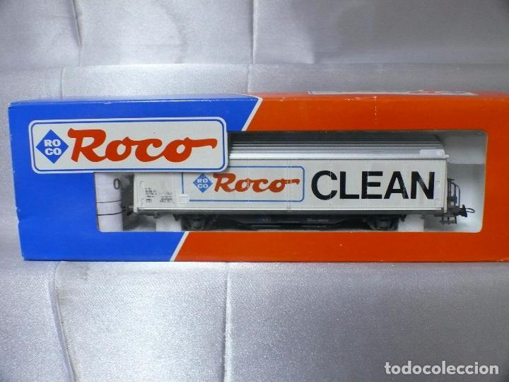 VAGON LIMPIAVIAS roco ROCO46400 escala h0