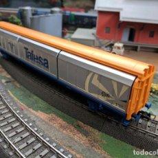 Trenes Escala: VAGÓN TIPO HABISS DE TAFESA DE PUERTAS CORREDERAS H0 ELECTROTREN. Lote 104831911