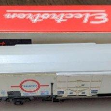 Trenes Escala: VAGÓN FRIGORÍFICO DE TRANSFESA. Lote 107533787