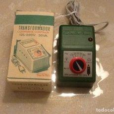 Trenes Escala: ELECTROTREN. TRANSFORMADOR BITENSION.. Lote 110128535
