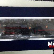 Trenes Escala: ELECTROTREN MIKADO REF 4143 AC DIGITAL -- LOCOMOTORA VAPOR RENFE EPOCA III. Lote 112730579