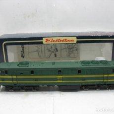 Trenes Escala: ELECTROTREN - REF: 2001 AC LOCOMOTORA DIESEL RENFE 333-015 CORRIENTE ALTERNA - ESCALA H0. Lote 114975107
