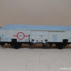 Trenes Escala: VAGÓN DE MERCANCÍAS TRANSFESA ELECTROTREN H0 . Lote 115105871