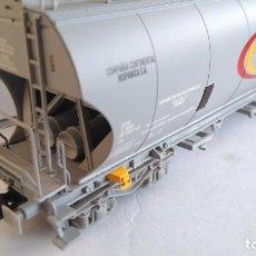 Trenes Escala: ELECTROTREN H0 VAGÓN TOLVA RENFE CONTINENTAL EPOCA IV, REF E8019. Lote 115339275