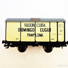 Trenes Escala: ELECTROTREN. VAGÓN FUDRE DOMINGO EUGUI. Lote 117106319
