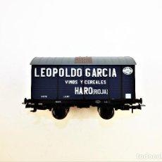 Trenes Escala: ELECTROTREN. VAGÓN FUDRE LEOPOLDO GARCÍA. Lote 117106451