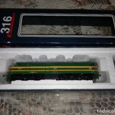 Trenes Escala: ELECTROTREN H0 1:87 LOCOMOTORA RENFE 2403S AC SONIDO 316 011 EPOCA IV NUEVA. Lote 116320303