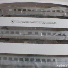 Trenes Escala: TAF PLATA IBERTREN 4701 CA DIGITAL SIN USAR BOLSAS DE ACCESORIOS SIN ABRIR EN VITRINA SIEMPRE. Lote 119566895