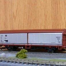Trenes Escala: ELECTROTREN H0 VAGÓN CERRADO CON PORTONES DESLIZANTES, DE LA DB, REFERENCIA 1485 . Lote 122036403