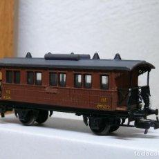 Trenes Escala: ELECTROTREN H0 COCHE DE VIAJEROS *COSTAS CORTO* DE MZA/RENFE REFERENCIA 1500. Lote 122037151