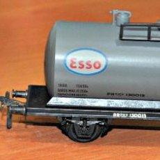 Trenes Escala: CISTERNA GRANDE ESSO METÁLICA DE ELECTROTREN, REF. 1106/4. AÑOS 50. ESCALA HO. Lote 129187195