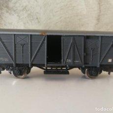 Trenes Escala: VAGÓN DE MERCANCÍAS ELECTROTREN H0. Lote 132288830