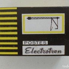 Trenes Escala: POSTES ELECTROTREN REF.250 10 POSTES HO NUEVO EN SU CAJA . Lote 132533654