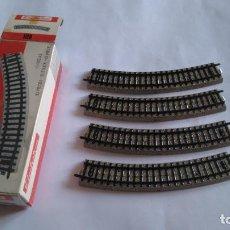 Trenes Escala: ELECTROTREN H0, LOTE DE VÍAS CURVAS. NUEVAS. . Lote 134929102