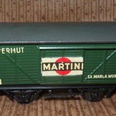 Trenes Escala: VAGÓN MARTINI,ELECTROTREN,ESCALA HO,FINALES AÑOS 50. Lote 136248610