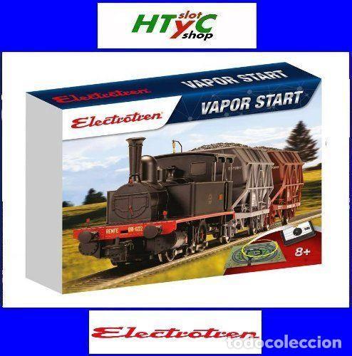 ELECTROTREN HO CIRCUITO INICIACION STARTER SET VAPOR START II E10107 (Juguetes - Trenes Escala H0 - Electrotren)