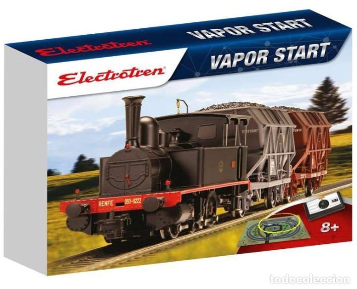 Trenes Escala: ELECTROTREN HO CIRCUITO INICIACION STARTER SET VAPOR START II E10107 - Foto 6 - 136315782