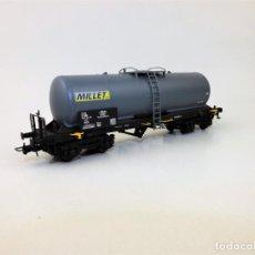 Trenes Escala: ELECTROTREN 5829 CISTERNA MILLET. Lote 138143270