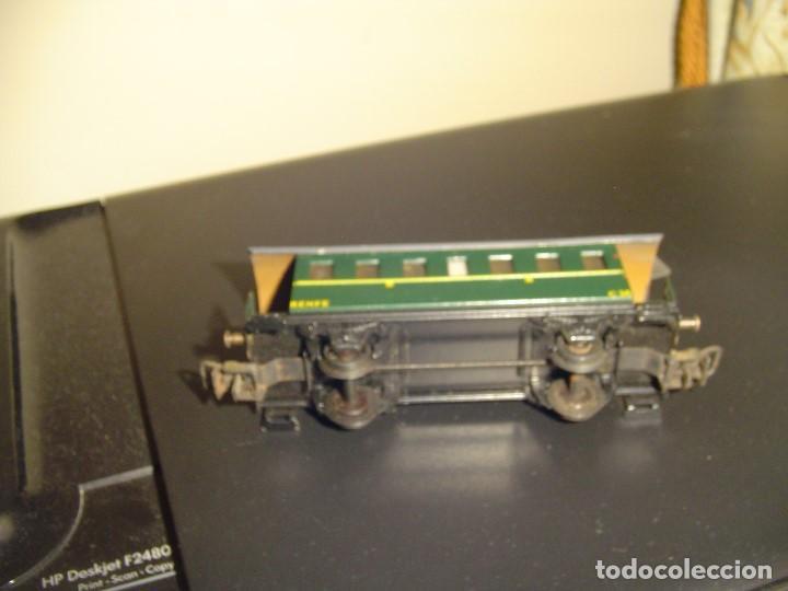 ELECTROTREN H0. VAGÓN PASAJEROS VERDE 1150/3 (Juguetes - Trenes Escala H0 - Electrotren)