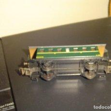 Trenes Escala: ELECTROTREN H0. VAGÓN PASAJEROS VERDE 1150/3. Lote 139870226