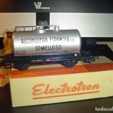 Trenes Escala: ELECTROTREN H0. ANTIGUA CISTERNA ALCOHOLERA. NUEVA. Lote 140641926