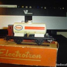 Trenes Escala: ELECTROTREN H0. CISTERNA ESSO. Lote 140715554
