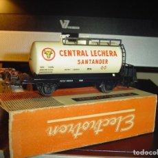 Trenes Escala: ELECTROTREN H0. CISTERNA CENTRAL LECHERA.. Lote 140718222