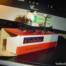 Trenes Escala: ELECTROTREN H0. CISTERNA INDUSTRIAS LACTEAS MADRILEÑAS. Lote 141116362