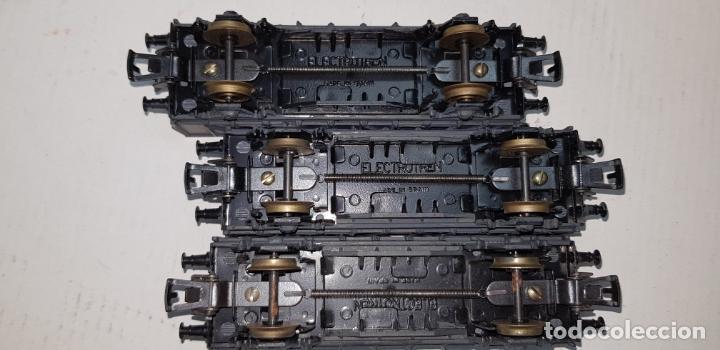 Trenes Escala: 3 vagones de carga grises electrotren ho h0 nuevos - Foto 5 - 141332674